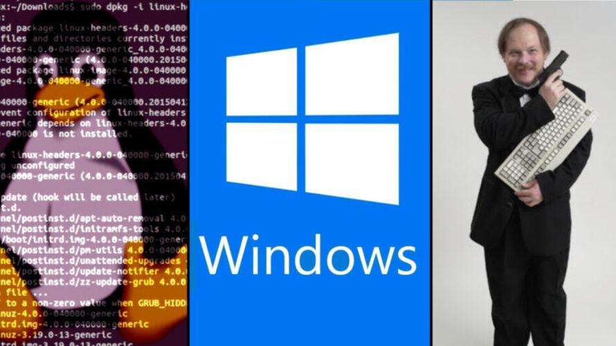 """Ерик Реймънд: """"Време е Microsoft да замени ядрото на Windows с Linux ядрото"""""""