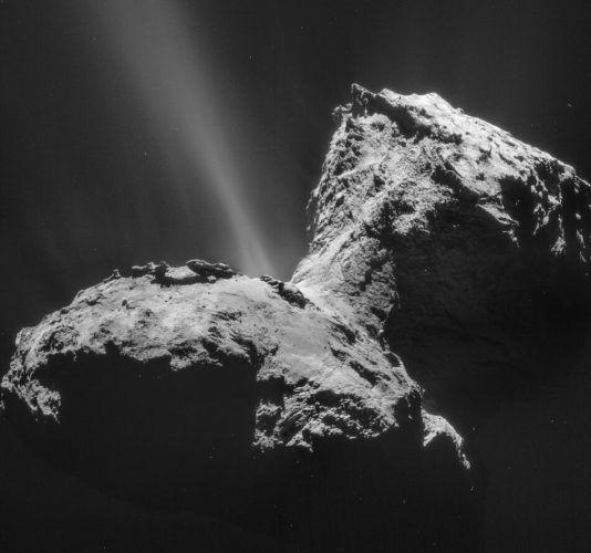 Изследователи откриват полярно сияние на кометата 67P/Чурюмов-Герасименко