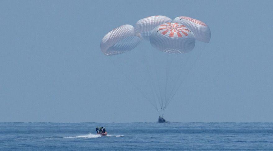 НАСА намери някои недостатъци в конструкцията на космическия кораб Crew Dragon