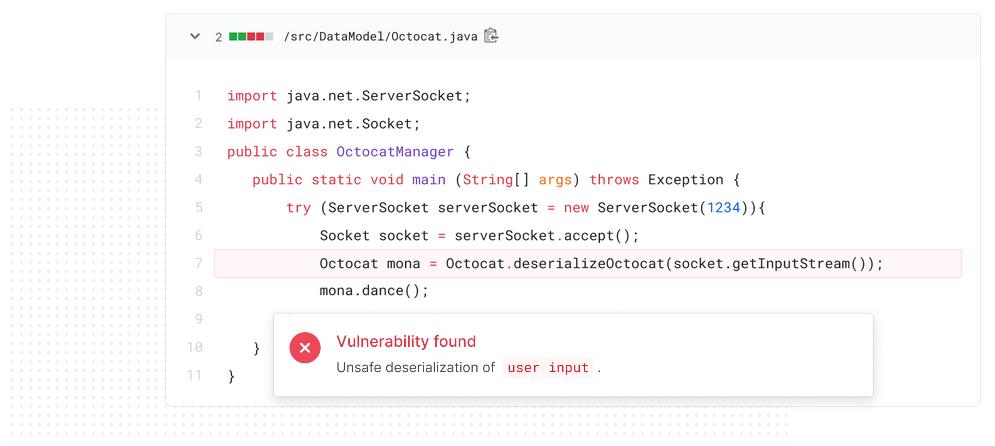 GitHub публикува нов инструмент за проверка на слабости в кода