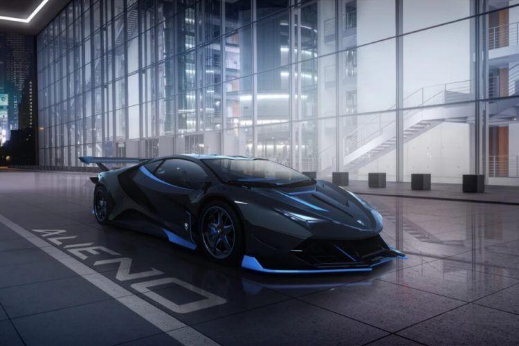 Българската компания Alieno показа интериора на своя суперкар с мощност 5221 конски сили