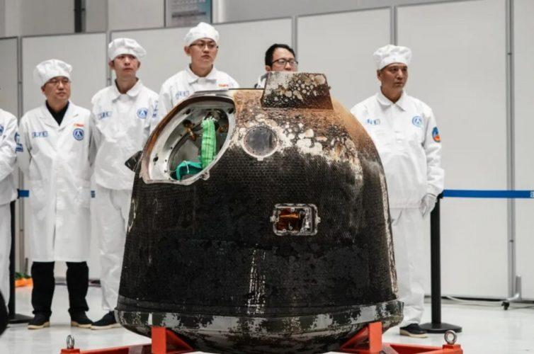 Китайските учени започнаха изучаването на лунните проби взети в рамките на мисията Чанъе-5