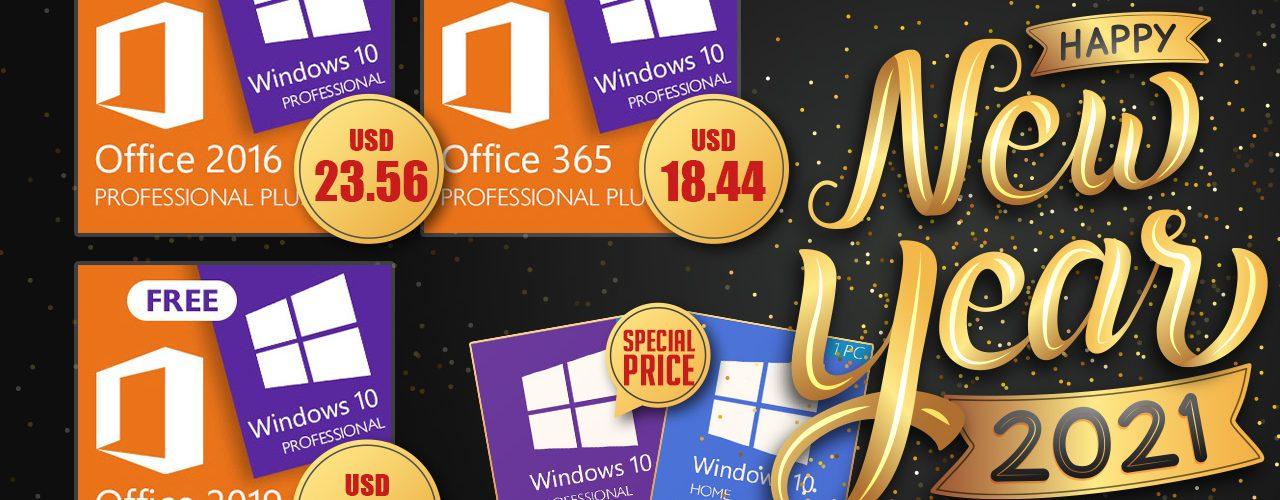 Най-доброто предложение в началото на годината: вземете си безплатен продуктов ключ за Windows 10