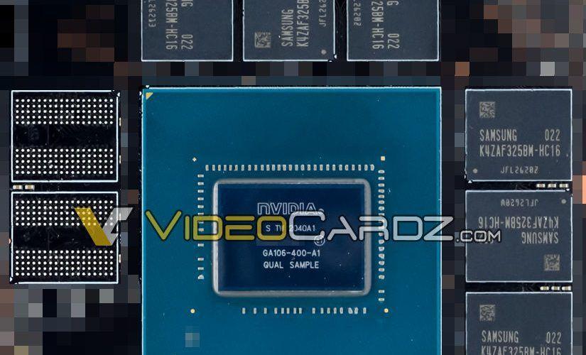 Публикуваха няколко изображения на 8 nm графичен процесор Nvidia GA106