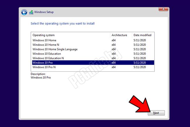 Версия на Windows