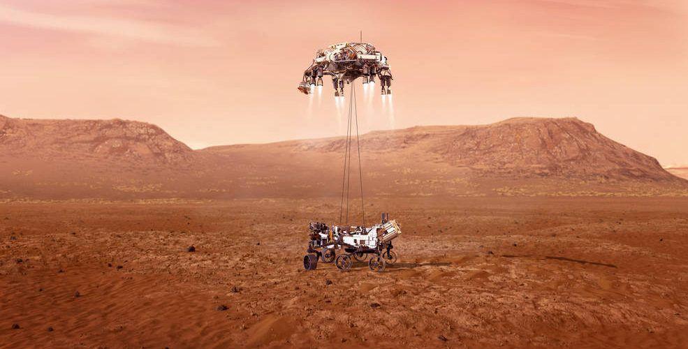 Марсианският роувър Perseverance успешно кацна на Марс