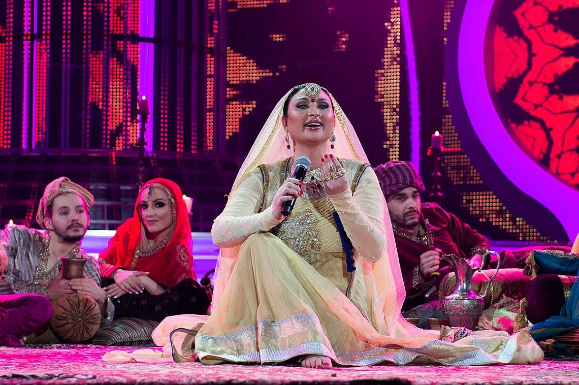Софи Маринова се преобрази в индийската певица и актриса Айшвария Рай.