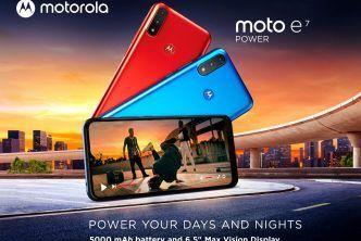 Motorola представи moto e7 power