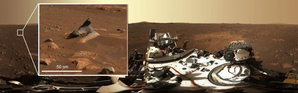 Perseverance изпрати почти 6000 цветни и черно-бели снимки на Марс