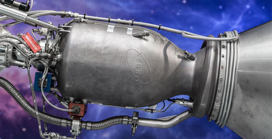Новият 3D принтер за стартъпа Orbex печати по 35 ракетни двигателя годишно
