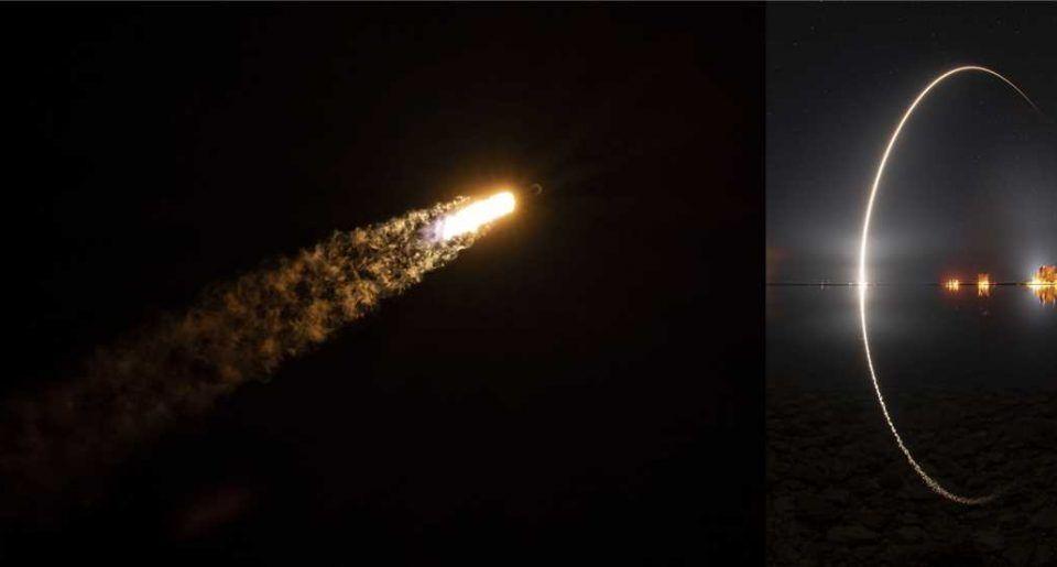 SpaceX за девети път успешно изстреля и приземи една и съща първа степен на Falcon 9