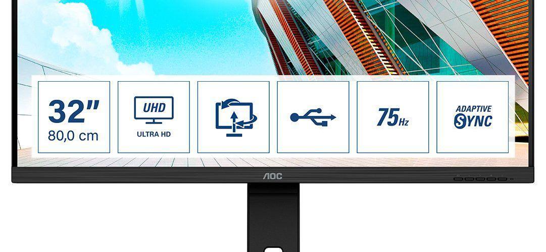 AOC подсилва професионалното си портфолио с три нови дисплея