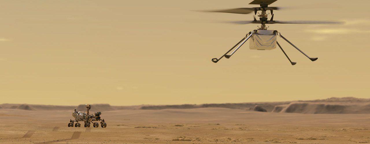 НАСА обяви датата и какъв ще бъде маршрутът на първия хеликоптер на Марс