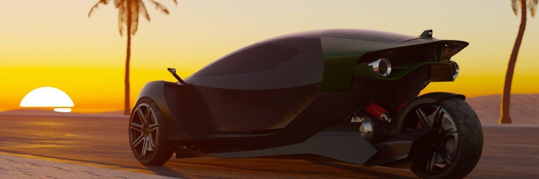 Триколесният двуместен електромобил Spiritus ускорява до 100 само за 1,8 секунди