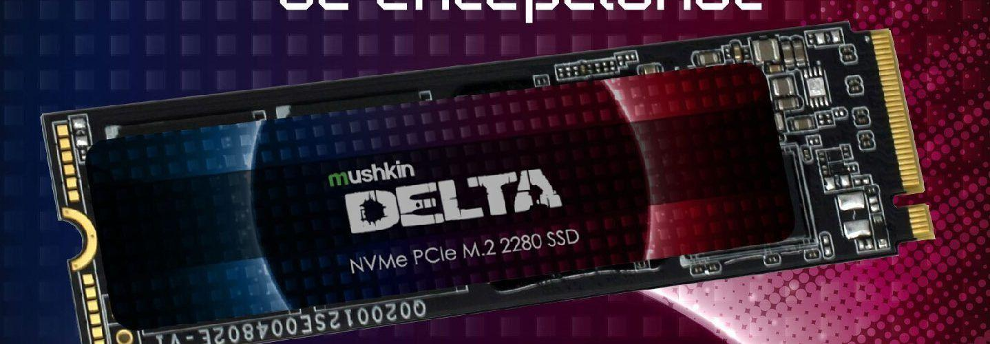 Mushkin представи NVMe флаш дисковете Delta и Gamma