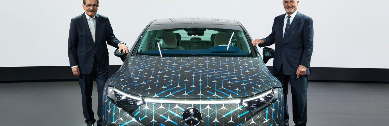 Луксозният електромобил Mercedes-Benz EQS предлага 770 километра пробег по WLTP цикъла