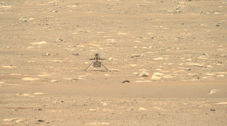 Налага се обновяване на софтуера на марсианския дрон Ingenuity