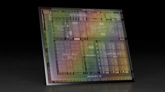 Nvidia представи своя фирмен ARM процесор Grace