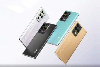 Axon 30 Ultra: флагмански смартфон с три 64 МР оптични сензора