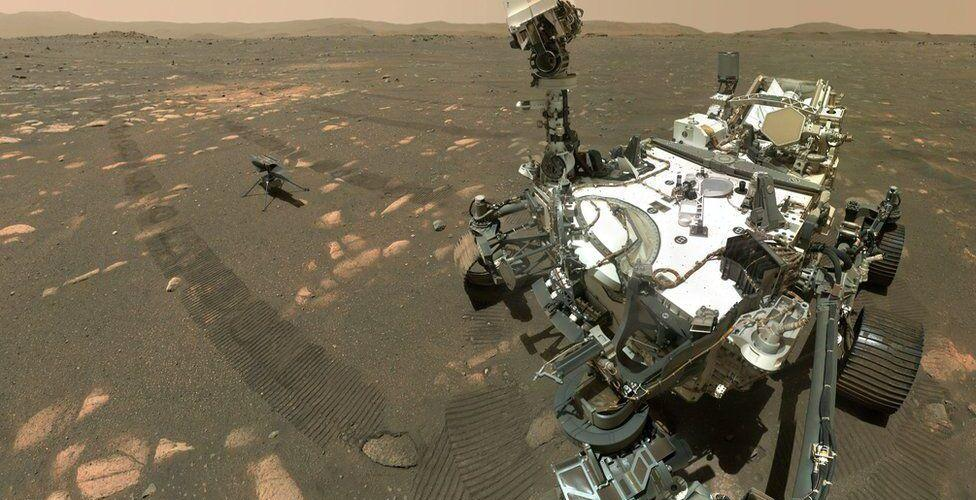 НАСА показа успешния полет на марсианския дрон Ingenuity