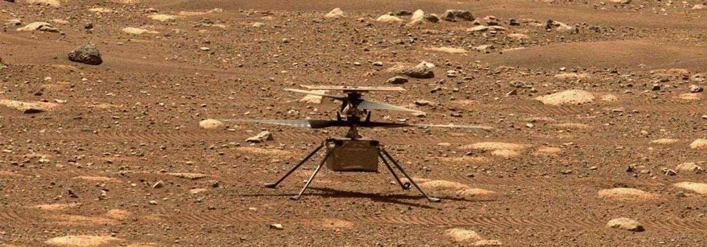 НАСА публикува качествено видео на полета на марсианския дрон Ingenuity