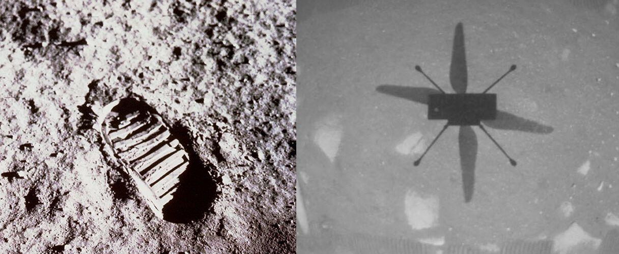 НАСА показа още един клип на излитането и кацането на Ingenuity