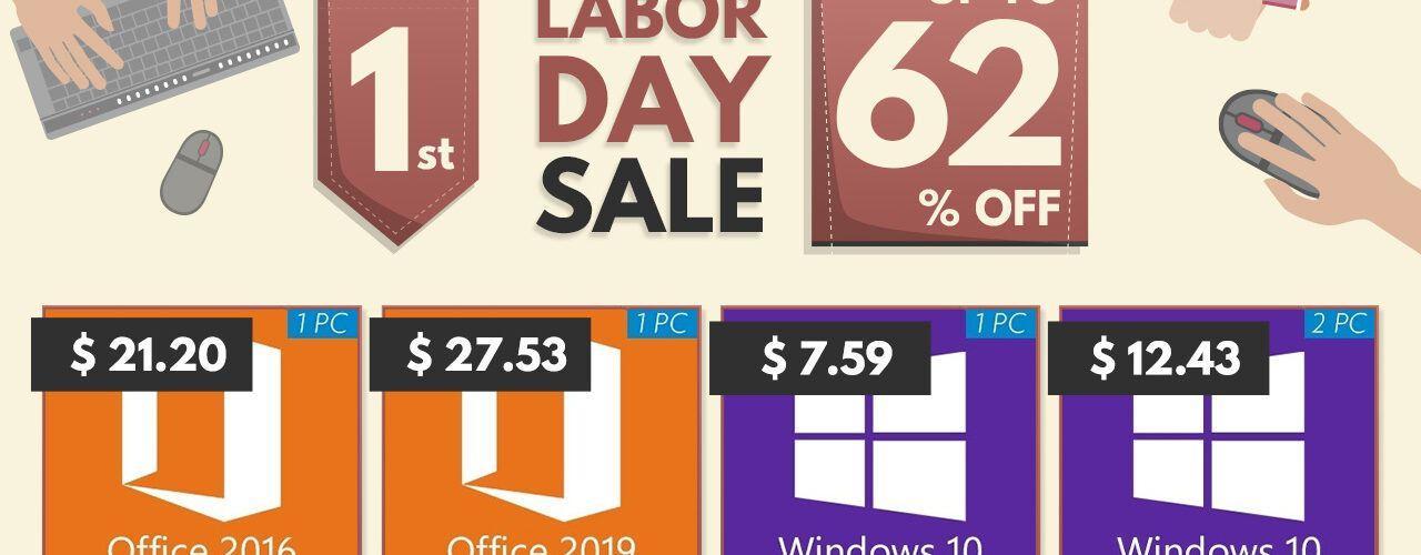 Разпродажби на софтуер по случай Деня на труда: спестете много с Godeal24 - Windows 10 само за $7,59!