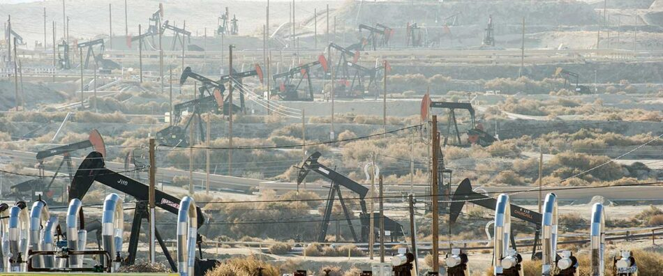 Към 2045 година Калифорния завинаги прекратява добива на нефт