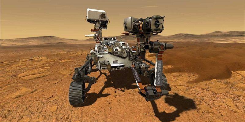 Ето как изглежда дънната платка на марсианския роувър Perseverance с процесор на Intel