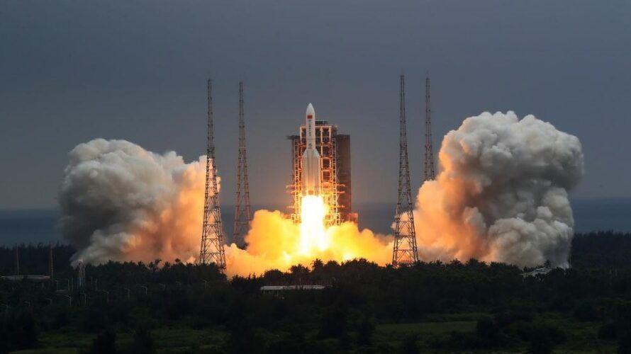 Китай успешно изведе в орбита основния модул на своята орбитална станция