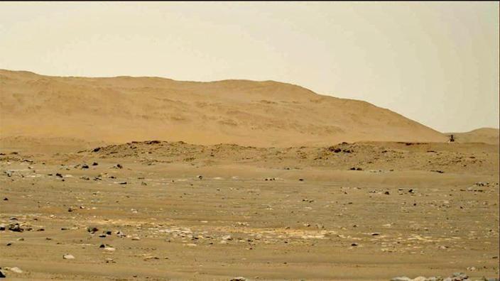 Успешен четвърти полет на Ingenuity над повърхността на Марс