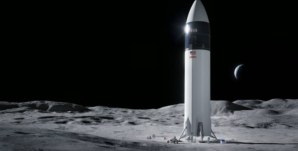 НАСА спря $2,9-милиардния договор със SpaceX за създаването на лунен модул за кацане