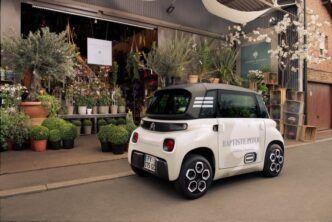 Citroen представи товарния електромобил My Ami Cargo с цена 6500 евро