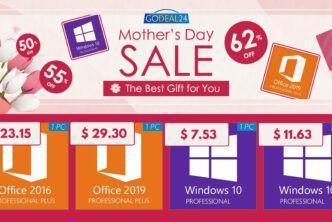 Промоция по случай Деня на майката: Windows 10 Pro само за $7,53!