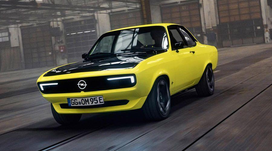 Opel представи електромобила Opel Manta GSe ElektroMOD