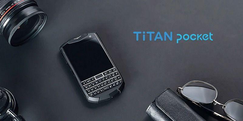 Titan Pocket: компактен и евтин смартфон с хардуерна клавиатура