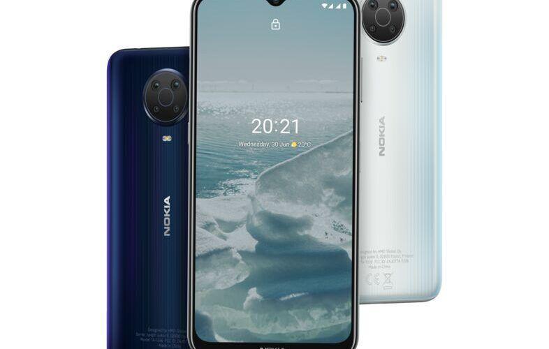Nokia G20 e най-новият смартфон предлаган от Vivacom