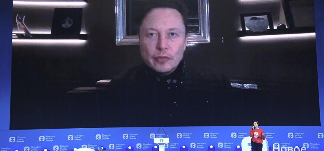 """Илън Мъск взе участие в руския форум """"Новото знание"""""""