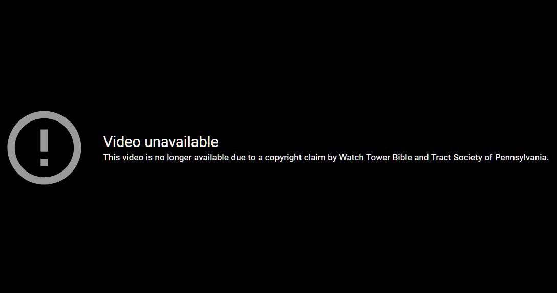 JW DMCA YouTube