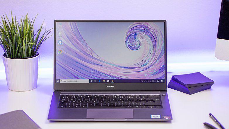 Huawei MateBook D14 - лаптоп от среден клас с уникална функция за споделяне на файлове