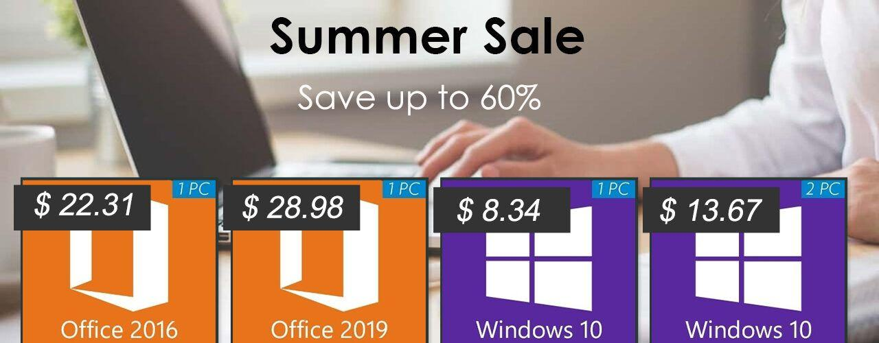 Лятната промоция на Godeal24: Windows 10 Pro само за $8,34