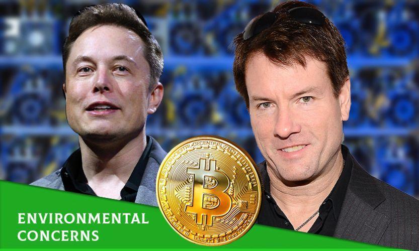 Илън Мъск и биткойн криптоминьорите се заемат с решаване на проблема с екологичната устойчивост на криптовалутите
