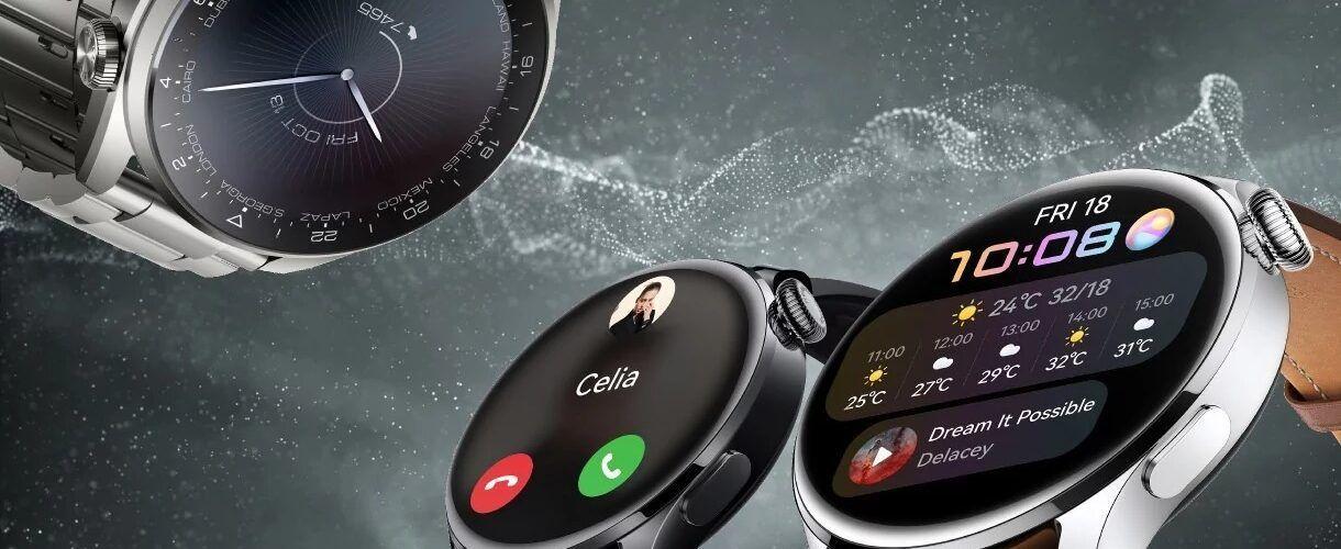 Huawei Watch 3: смарт часовници с HarmonyOS, седем дни автономна работа и титанов корпус