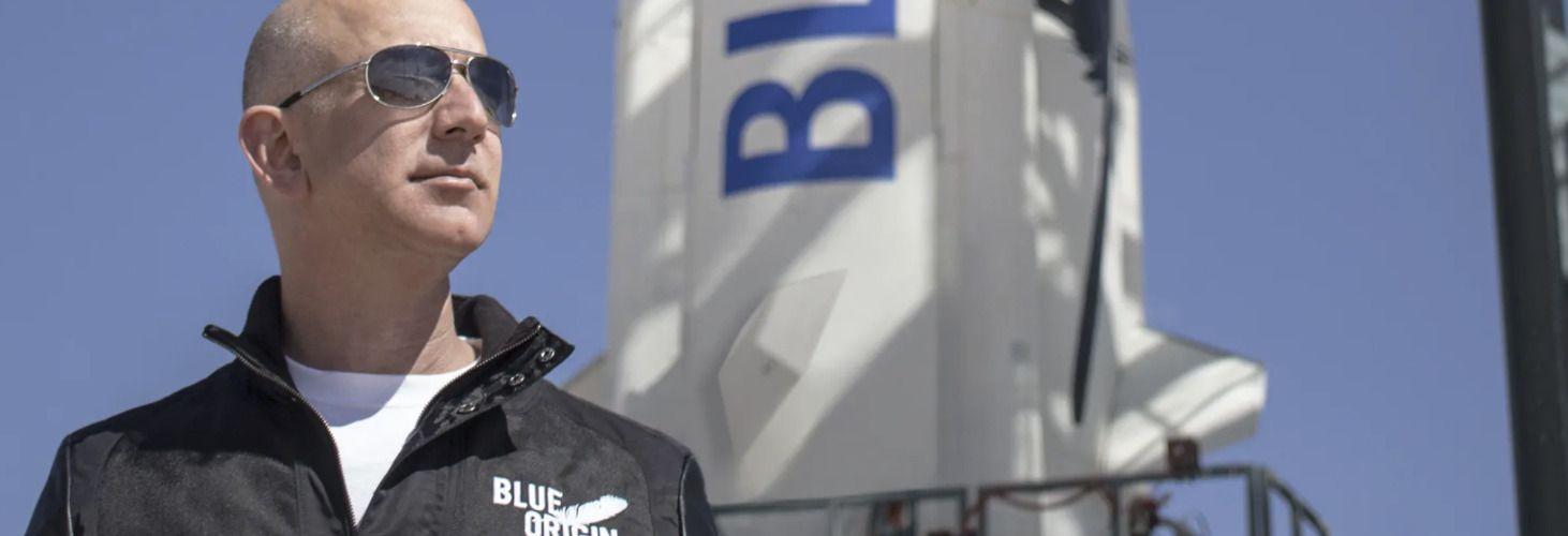 Безос ще пътува с брат си в Космоса с ракета на Blue Origin