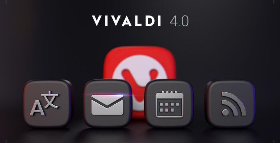 Браузърът Vivaldi вече предлага вградени пощенски клиент, календар, RSS четец и преводач