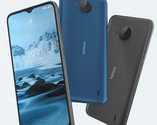 HMD Global представи смартфона Nokia C20 Plus