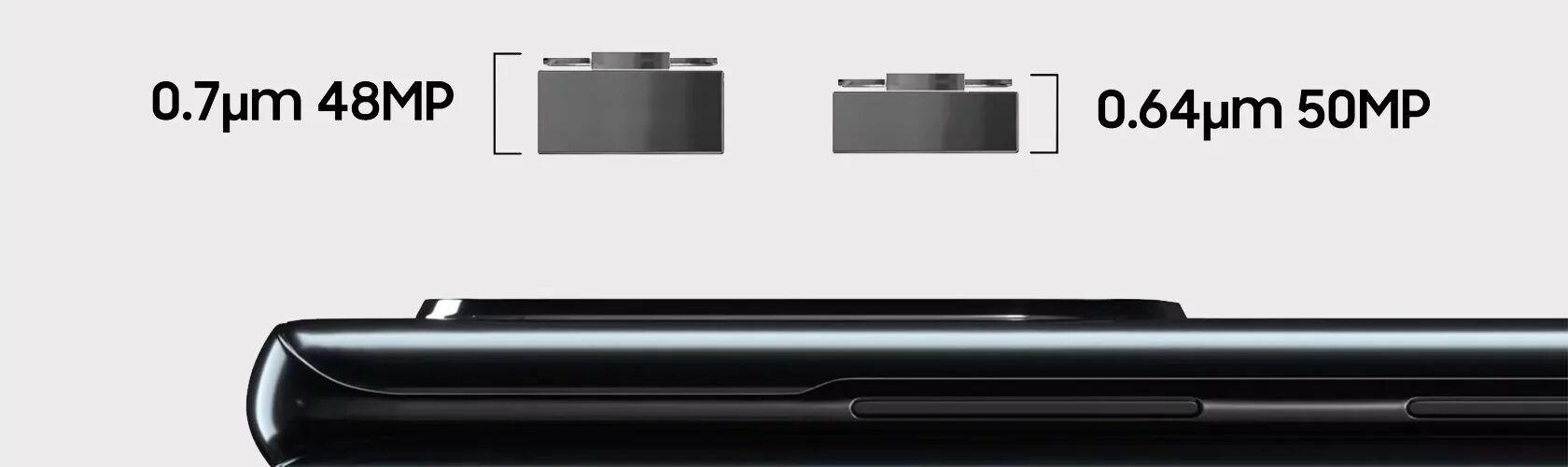 Новият 50 МР сензор на Samsung ще реши проблема с показващите се извън корпуса на смартфона камери
