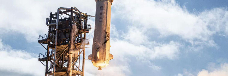 Билетът за полет с Безос до космоса в ракетата на Blue Origin е продаден за 28 млн. долара