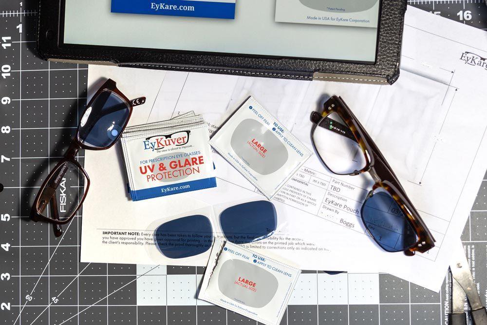EyKuvers временно преобразува вашите диоптрични очила във функционални нюанси