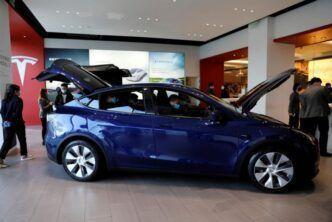 През месец май китайските продажби на Tesla Model Y са се увеличили двойно